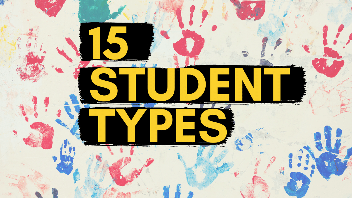 15 Types of Students