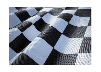 checkered flag close-up